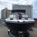 YAMAHA スポーツボートAR240 進水式